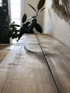 Wooden Bench | Custom Stain