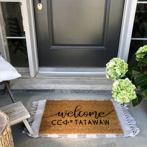 Custom Door Mat | AVAILABLE IN SPRING 2021