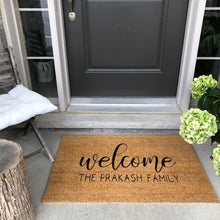 Load image into Gallery viewer, Custom Door Mat | AVAILABLE IN SPRING 2021