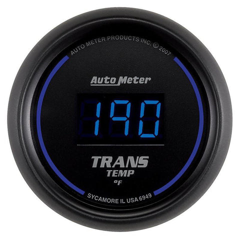AUTO METER 6949 COBALT DIGITAL TRANSMISSION TEMP. GAUGE 0-340 F-XDP-Full Send Diesel