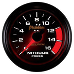 AUTO METER PHANTOM II SERIES NITROUS PRESSURE GAUGE 7574 0-1600 PSI-XDP-Full Send Diesel