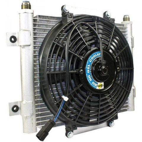BD-POWER 1300611 XTRUDED AUXILIARY TRANS COOLER-XDP-Full Send Diesel