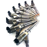 DDP LLY-50 REMANUFACTURED 50HP INJECTOR SET (20% OVER) 2004.5-2005 GM 6.6L DURAMAX LLY-XDP-Full Send Diesel