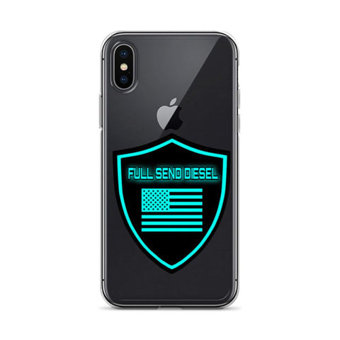 "FSD ""Badge"" iPhone Case-Full Send Diesel-Full Send Diesel"