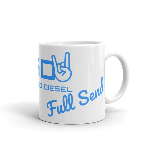 "FSD ""Full Send"" Mug-Full Send Diesel-Full Send Diesel"