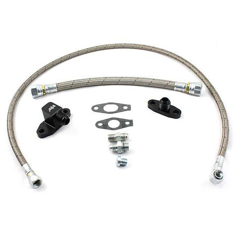 MERCHANT AUTOMOTIVE 10228 S400 OIL LINE KIT 2001-2010 GM 6.6L DURAMAX W/ S400 VALLEY MOUNTED TURBO-XDP-Full Send Diesel