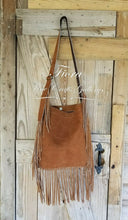 Load image into Gallery viewer, Mustard Fringe Bag
