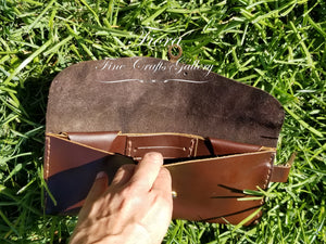 Nutmeg Leather Wallet