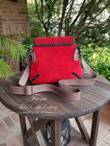 Uxmal red Suede #103M