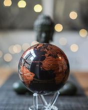 Load image into Gallery viewer, Cooper Black Spinning Globe 4.5""