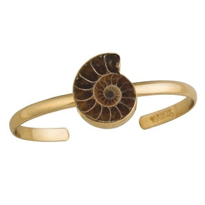 Ammonite Mini Cuff