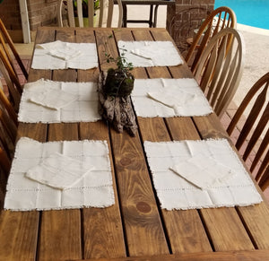 Natural Place Mats set of 6