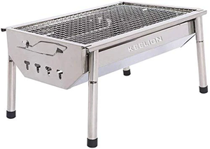 Keelion Stainless Steel Charcoal Grill BBQ