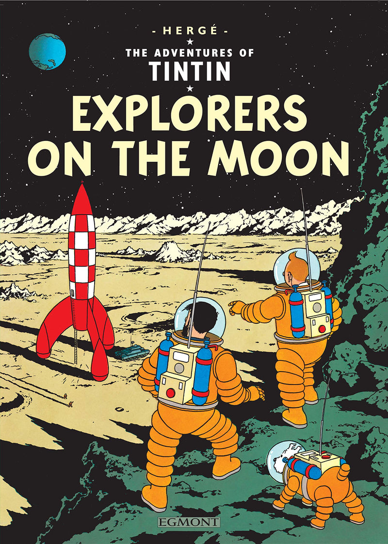 Hardcover Explorers on the Moon (UK)