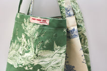 Load image into Gallery viewer, Wine tote - Toile de Jouy Canvas