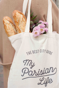 TOTE BAG – MY PARISIAN LIFE TEXT