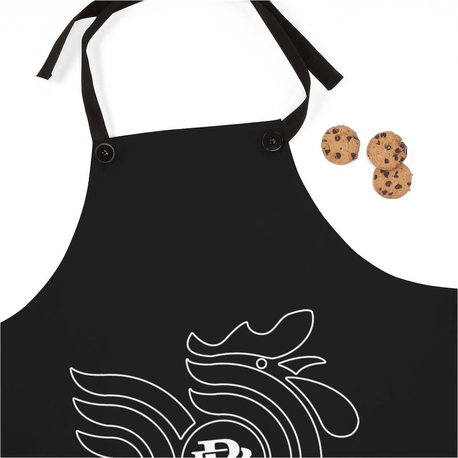 Black Rooster apron