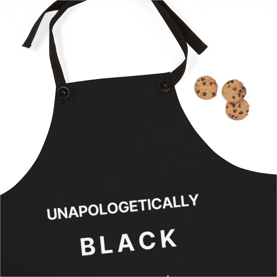 Unapologetically Black apron