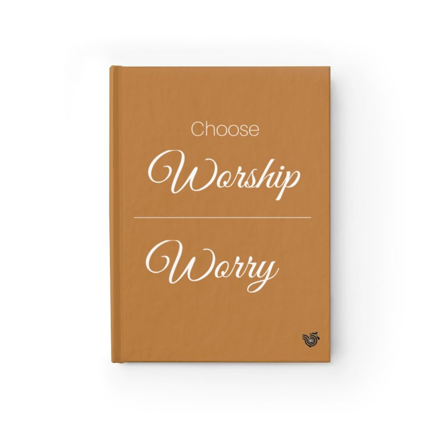Worship Over Worry prayer journal