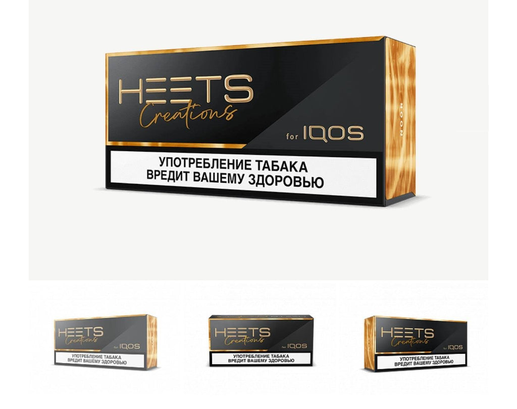 Limited Edition Heets Creation Noor (Russian 10 Packets)