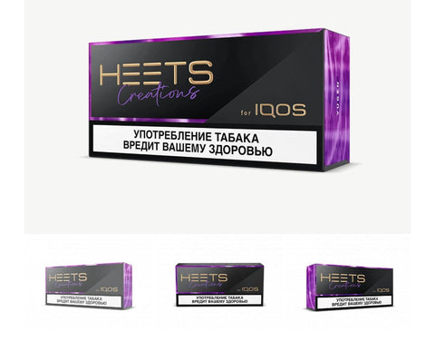 Limited Edition Heets Creation Yugen (Russian 10 Packets)