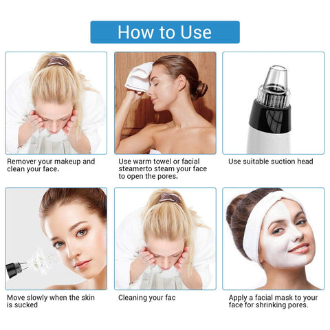 how to use pore extractor