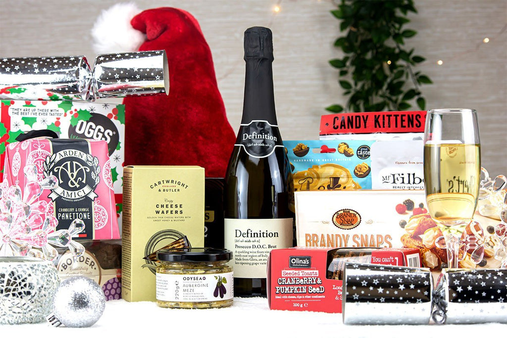 Festive Extravagance Hamper - #virtual event gifts for staff#