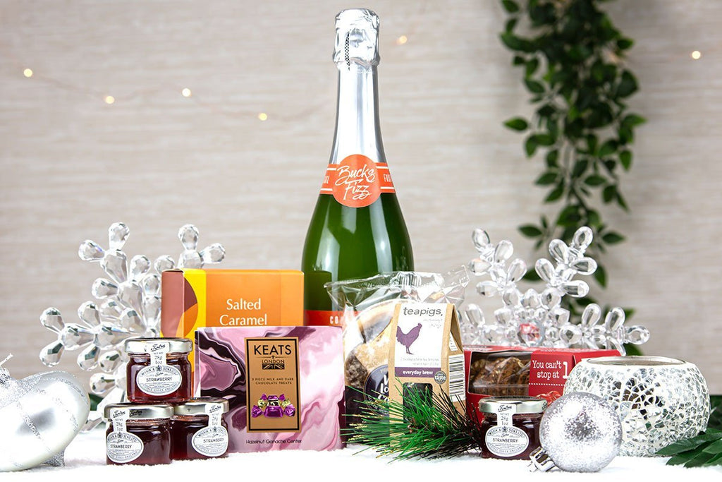 Mini Festive Hamper - #virtual event gifts for staff#