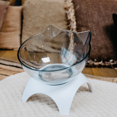 PostureCat Anti-Vomiting Orthopedic Cat Bowl BaileysSmile