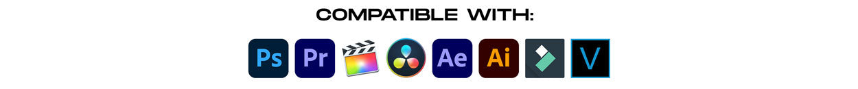 compatible with all video and photo software