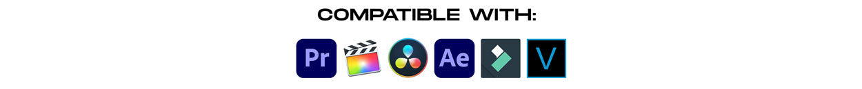 compatible with all video software