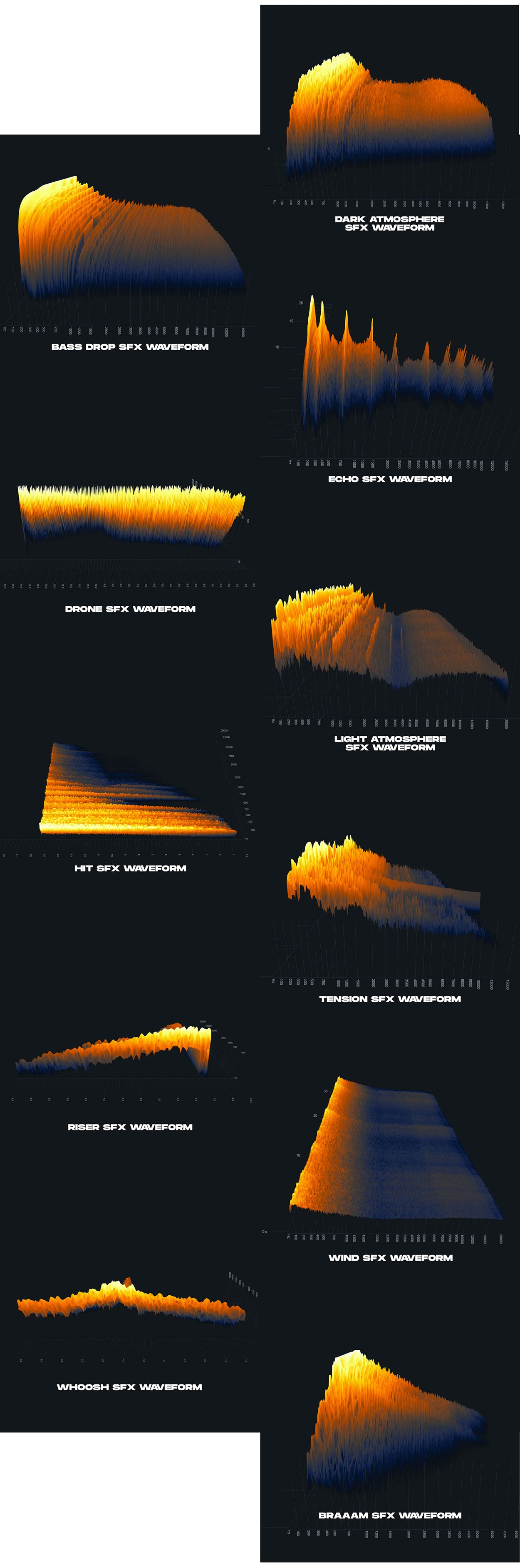 cinematic sound effect soundwaves