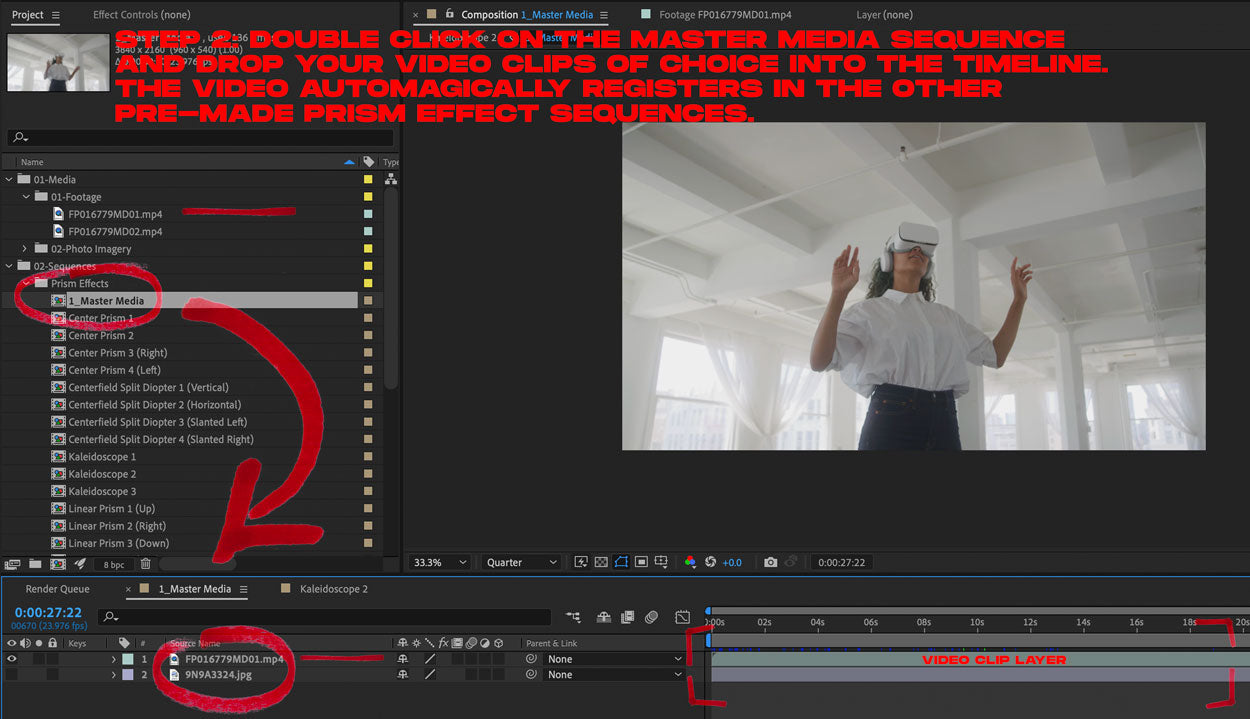 how to add prism effects in after effects tutorial