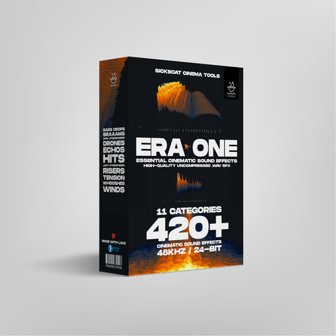 Era One Essential Cinematic Sound Effects Pack For Films and Trailers