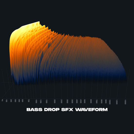Bass Drop SFX Waveform For Films and Trailers