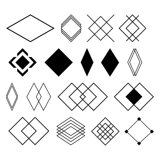 Euclid-2D-Geometric-Shapes-Motion-Graphic-Assets-Diamonds