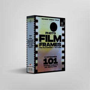 Photo Film Frames Pack