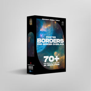 Poster Borders PNG Overlay Pack