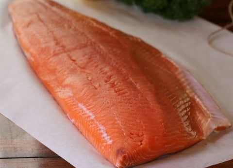 SMOKED SOCKEYE SALMON FILLET - 16 OZ