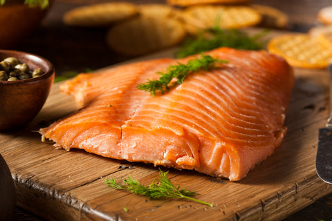 24 PINK SMOKED SALMON FILLET - 8 oz SAVE %20 - SalmonMarket