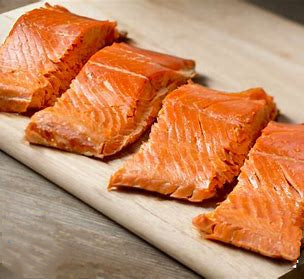Smoked Alaskan  Salmon SAMPLER (Four 4 oz .packs ) - 16 OZ