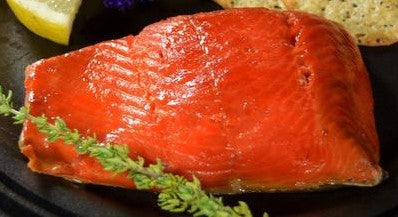 SMOKED SOCKEYE SALMON FILLET - 8 OZ