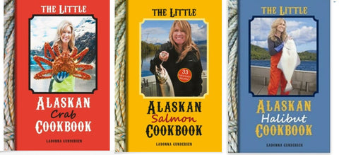 The Little Alaskan Salmon Cookbook TRIO SAVE $5
