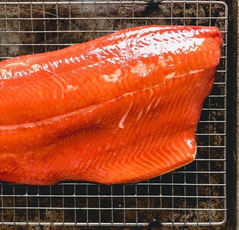 Buy 5 lbs SOCKEYE Salmon Fillet & GET 3 lbs PACIFIC Salmon Fillet FREE