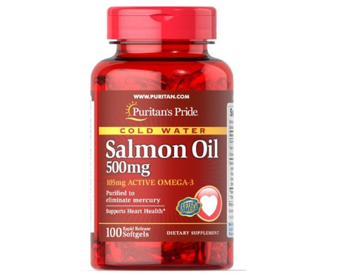 Omega-3 Salmon Oil • 3 Pack