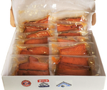 24 SMOKED SILVER SALMON STRIPS - 6 oz SAVE %20 - SalmonMarket