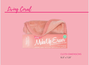 Living Coral MakeUp Eraser