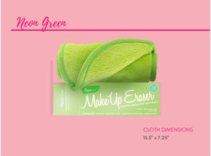 Neon Green MakeUp Eraser