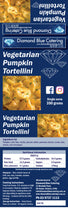 Load image into Gallery viewer, Vegetarian Pumpkin Tortellini