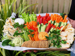 Dip & Vegetable Platter